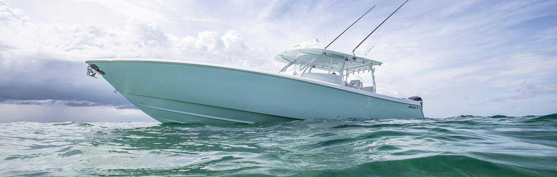 Contender fishing boat