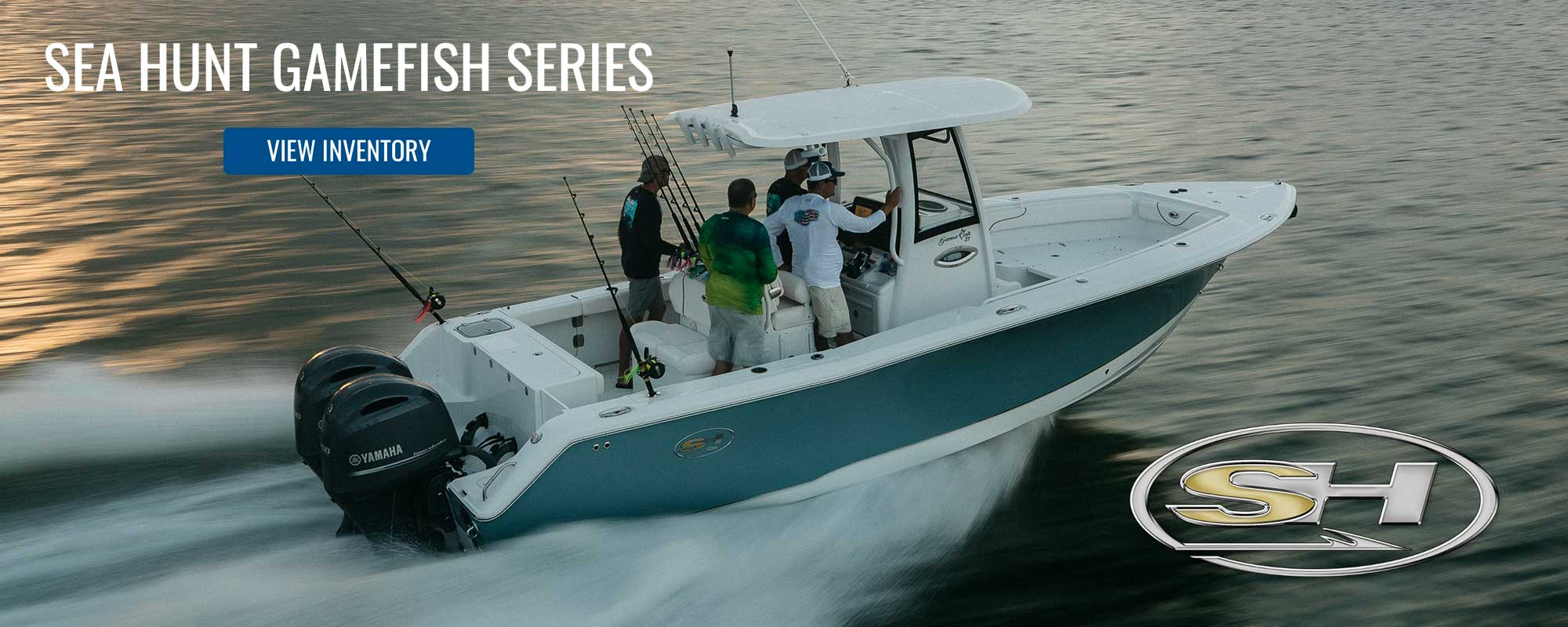 Sea Hunt Gamefish series in open water