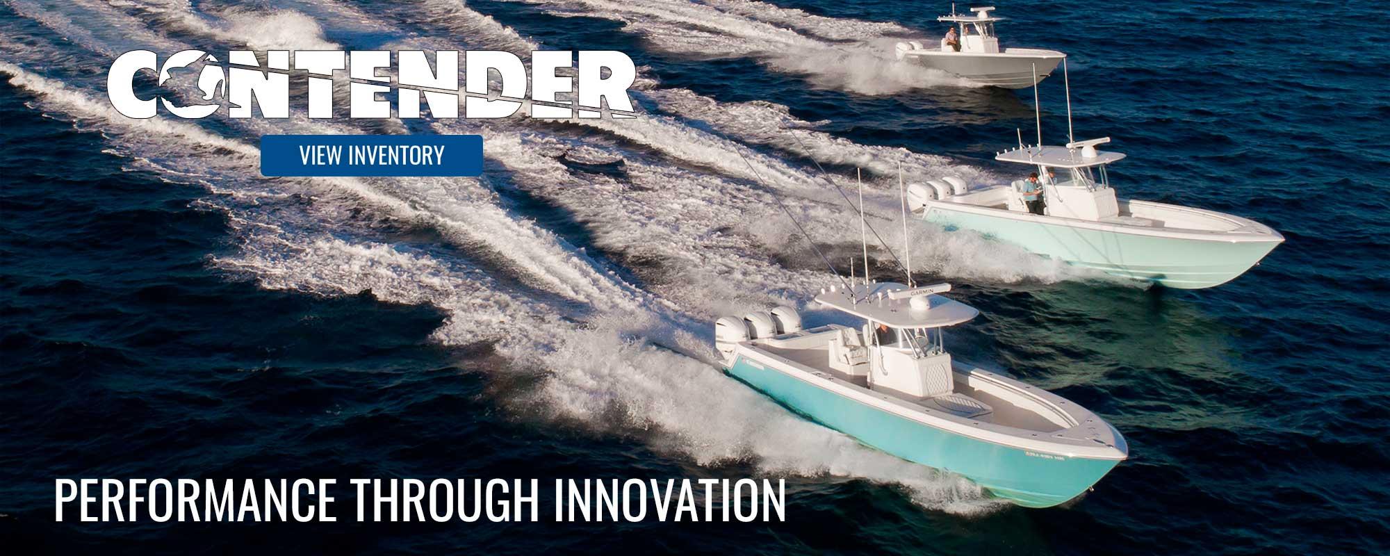 Contender boats fleet